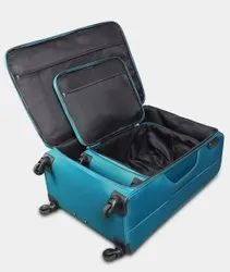 Black Polyester Luggage Trolley Bags