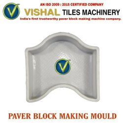 D Shape Paver Block Mould