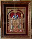 Lord Tirupati Balaji Tanjore Painting