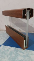 Alluminiume glass railing