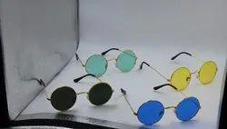 Round Casual Wear Sun Goggles