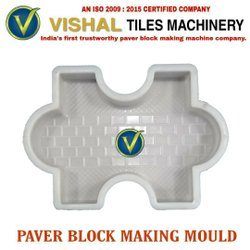 Plastic Paver Block Making Mould