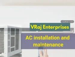 3 To 5 Star Air Conditioner Installation Maintenance Service, Copper, Capacity: 2 Tons