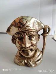 Brass Pen Holder Cum Show Piece
