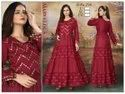 Reyon Party Wear Ladies Anarkali Kurti