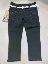 Regular Girl Kids ladies Black jeans
