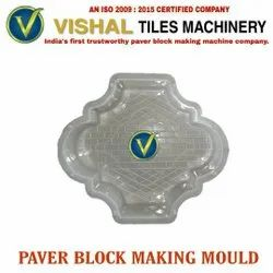 White 30 mm Paver Block Making Mould
