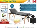 Portable Foldable Wooden Massage Table