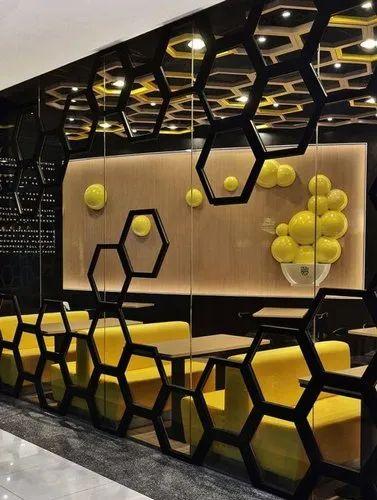 Office Interior Design, Work Provided: Wood Work & Furniture