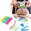 Plastic Food Snack Bag Pouch Clip Sealer