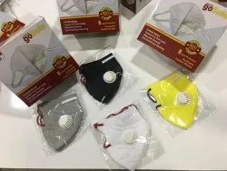 Go safe Disposable N95 Respirator Mask, Certification: Iso, Ce