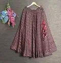 Ladies Designer Skirt
