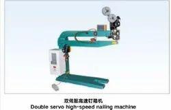 Double servo high speed nailing machine