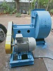 V-Belt Driven Units Mild Steel Industrial Id Fan
