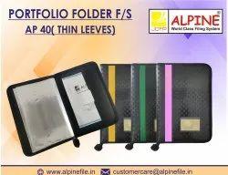 Portfolio Folder F/s Ap-40