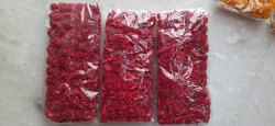 Art And Craft Artificial Red Rose Paper Flower