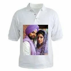 Cotton Printed Personalized T Shirt Printing Services