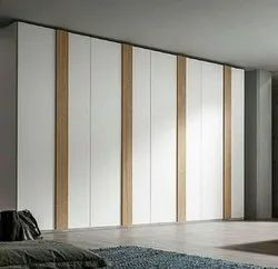 SS Interior Hinged Colored Wooden Almirah, For Home, Hotel, Number Of Doors: 8 Doors