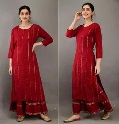Sharara Kurtis, Size: 38-40-42-44