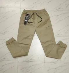 Cotton/Linen Stretchable Mens Joggers