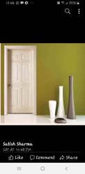 Laminated Membrane Doors, For Home