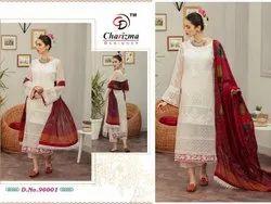 Net Normal Salwar Pakistani Charizma Suits