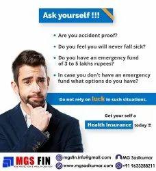Health Insurance, I Year To 3 Years