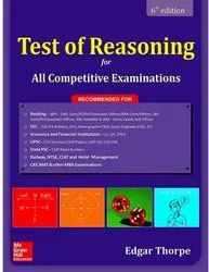 English Test Of Reasoning Competitive Exams Books, 6th Edition, Edgar Thorpe