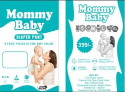 Printed Breathable Fabric Mommy Baby Diaper