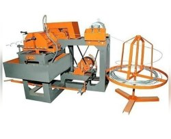 Semi Automatic Chain Link Fencing Machine, Production Capacity: 1 Ton, 3 Hp