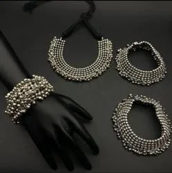 Antic necklace set bridal look stylish necklace