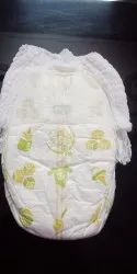 Soft cotton baby diaper in pant style a grade fresh quality, Packaging Size: 100 Pcs Transparent Packing
