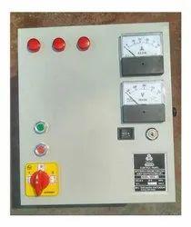 Solar - MSEB Motor Starter Control Panel