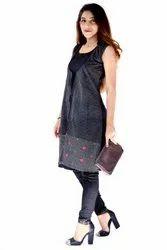 Designer Ladies Cotton Jacket Kurti