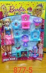 makali Female Kids barbie Toys set, Packaging Type: Blaster