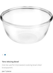 Plastic Tero mixing bowl