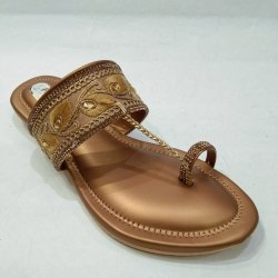 Daily Wear Ladies Kolhapuri Slippers, Size: 8 To 11