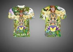 All Over T Shirt Sublimation Printing