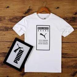 Men's t-shirt neck round tess