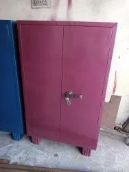 Brown Metal Small Almirah, For Office, Size: H 50 Inch W 30 Inch D 16 Inch
