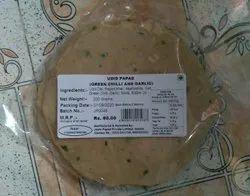 Food 200grm Lasun Mirchi Udid Papad