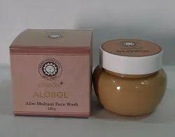 Herbal Green Alomultani Face Wash, Gel