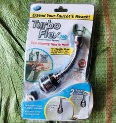 Silver Turbo Flex 360, For Kitchen, Handle Type: Flexible
