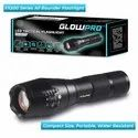 Ce Aircraft Grade Aluminum Glowpro Led Tactical Flashlight Fx500, Battery Type: Alkaline And Rechargeable