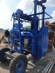 Diesel Manual Concrete Mixer Machine With Lift