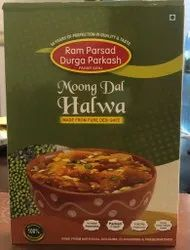 Pure Desi Ghee Moong Dal Halwa Ready To Eat, 270 Grams, Packaging Type: Packet