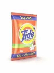 Jasmine Tide Plus Detergent Powder 6 Kg, For Laundry, 6kg+2kg