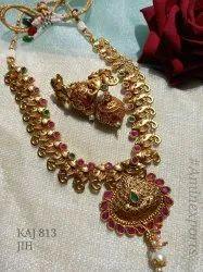 Gold Plated Necklace Sets KAJ 813