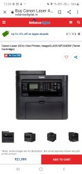 Canon Laser Jet Printer