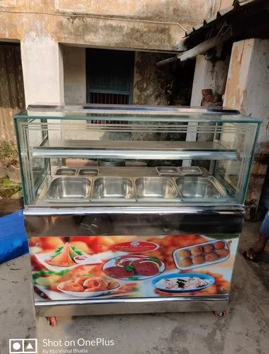 Samosa Kachori Display Counter